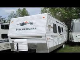 Fleetwood Travel Trailer Floor Plans 2004 Fleetwood Wilderness Travel Trailer In Sylvan Lake Ab Youtube