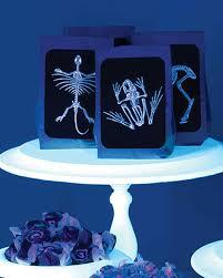 Blacklight Halloween Party Ideas by Glow In The Dark Halloween Martha Stewart