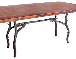 south fork rectangle dining table base only rustic table tops