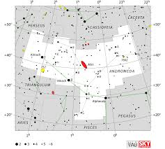 The Ghost Map Andromeda Constellation Facts Myth Stars Deep Sky Objects