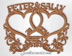 scroll saw patterns special occasions anniversary