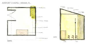 Church Of Light Floor Plan Designing With Light A Chapel And Woodwind Quintet In Miami Fl