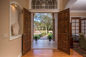 French Doors With Transom - traditional front door with french doors u0026 hardwood floors in