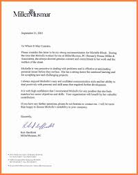 Client Termination Letter 4 Recommendation Letter For Employee From Manager Life
