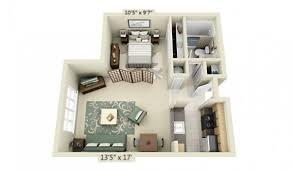 Small Apartment Interior Design Studio Apartment Floor Plans