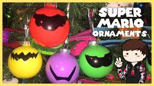 diy mario bros mustache ornaments