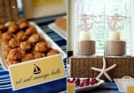 nautical themed baby shower nautical baby shower brunch guest feature celebrations at home