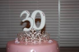 30 cake topper 30 cake topper