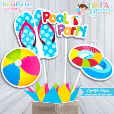swimming party birthday party ideas