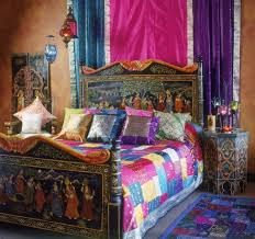 bedroom bohemian bedroom ideas window treatments wood bed