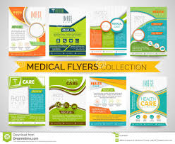 fliers templates stylish flyers templates or brochures collection stock
