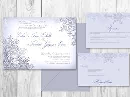 Invitations For Weddings Winter Wedding Invitations Kawaiitheo Com