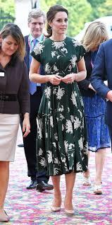kate middleton wears a garden fairy dress to the chelsea flower