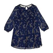 blue girls dresses kids debenhams