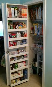 closet storage best small pantry closet ideas on pantry door rack