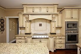 Kitchen Cabinets Ideas  Cream Distressed Kitchen Cabinets - Distress kitchen cabinets