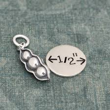 peas in a pod charm in a pod charm