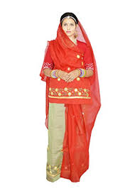 rajputi dress paridhan women s cotton rajputi dress poshak material