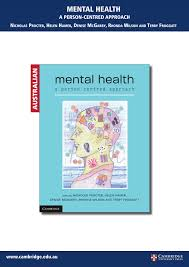 mental health a person centred approach pdf download available