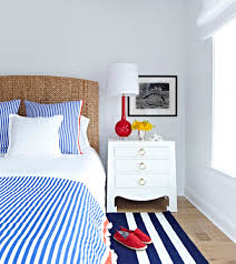 feeling nautical candy stripe coverlet via serenaandlily bay