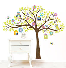 size tree wall decals wall ideas wall tree designs canvas
