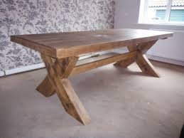 Chunky Rustic Dining Table Rustic Dining Table Legs House And Home Pinterest House