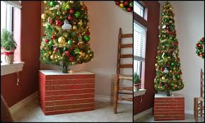 make your tree base sturdy and pretty diy projects for