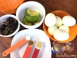tia u0026 talia u0027s tasty treats scary spider deviled eggs tia and
