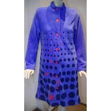 robe de chambre en courtelle femme femme robe de chambre peignoir de nuit robe de chambre