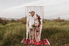 a colorfully styled elopement in mexico u0027s valle de guadalupe