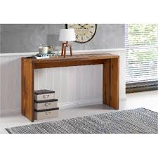 Entryway Table With Drawers Rustic Brown Entryway Table Rc Willey Furniture Store