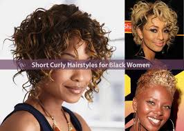 short curly hairstyles for black women hairstyle for women