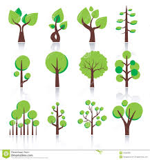 simple tree icon stock vector image of growth decoration 29538366
