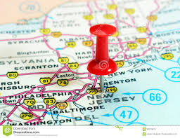New Jersey New York Map by Pushpin New York Map Stock Photos Images U0026 Pictures 40 Images