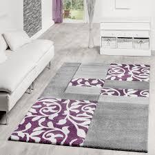 Wohnzimmer Lila Grau Teppich Lila Grau Beste Teppich Modern Wohnzimmer Teppiche Madeira