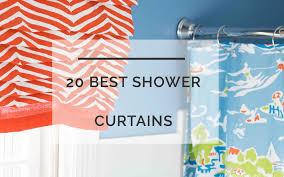 Orange And Blue Shower Curtain Best Shower Curtains 20 Of The Best Shower Curtains For Every Bath