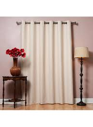 wide width basic solid grommet thermal insulated blackout curtains 80