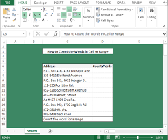 Count Number Of Words In Excel How To Create User Defined Function In Microsoft Excel Microsoft