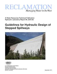 guidelines for hydraulic design of stepped spillways pdf download