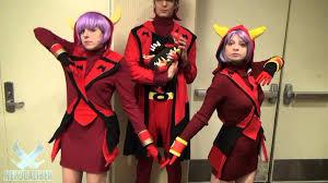 team rocket halloween costume team magma pokemon cosplay at anime usa 2015 youtube