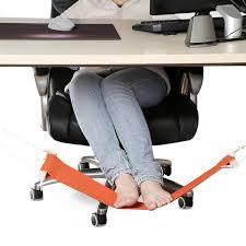 sous le bureau portable réglable mini bureau pied reste stand bureau pied hamac