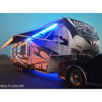 travel trailer led lights under glow led light kit for rvs trailers and cers shown here
