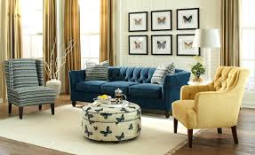 Blue Chesterfield Leather Sofa by Chesterfield Sofa In Living Room Home Design Ideas