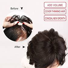 thin hair pull through wigltes amazon com igennki mono top hair pieces real human hair topper