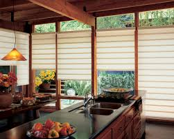 Ideas For Window Treatments by Curtain Ideas For Small Kitchen Window Treatments With Double Sink