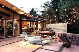 how to hang outdoor string lights on patio string lights for patio umbrella hanging outdoor led market garden