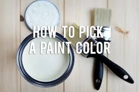 how to pick a paint color rc willey blog