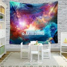 home decor tapestry galaxy tapestry cosmos series nebula with stars wall tapestry