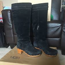 ugg australia clogs sale 73 ugg shoes hold ugg w rosabella black suede clog
