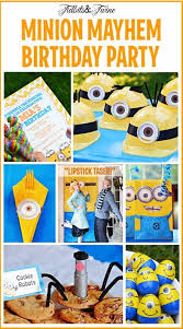 30 best despicable me birthday images on pinterest minion party